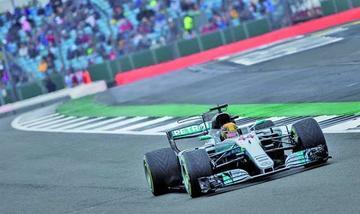 Lewis Hamilton saldrá primero en el GP de Bretaña