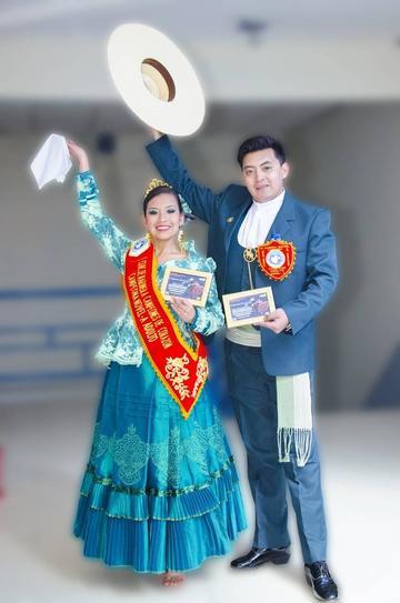 Ballet de la Domingo Savio va a concurso de Marinera