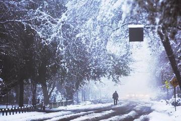 Nieve en Chile deja un muerto y miles quedan sin electricidad