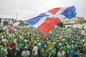 Dominicanos piden el fin de la impunidad y corrupción