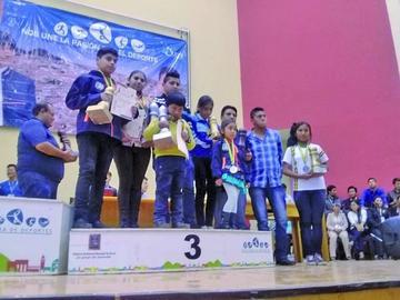 Potosí queda en el tercer lugar del medallero general de ajedrez