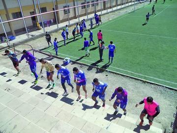 Real Potosí acelera su trabajo de pretemporada
