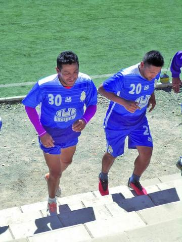 Peña, Jiménez y Andaveris se suman al trabajo