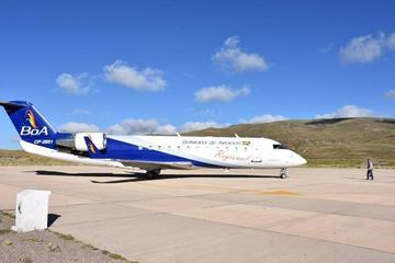 Gestionan servicio de avión de más de 100 pasajeros a Potosí