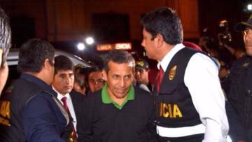Defensa de Humala recurre formalmente detención preventiva