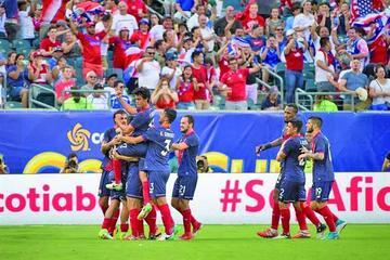 Costa Rica logra su clasificación a semifinales