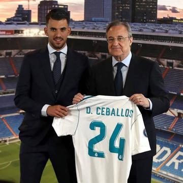 Dani Ceballos llevará el dorsal 24 en Real Madrid