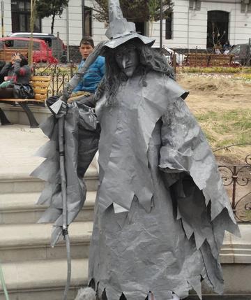 Estatua Viviente potosina va al festival de Mendoza