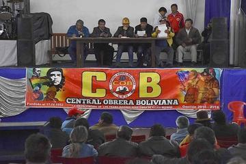 COB confirma ampliado nacional en Sucre el próximo 25 de julio