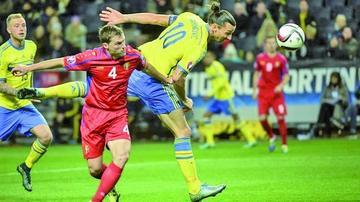 Suecia asegura su pase a cuartos en la Eurocopa