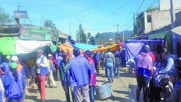 Bagalleros siguen bloqueando la frontera boliviana - argentina