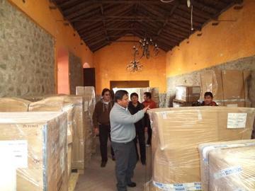 Llegan los equipos para montar una fábrica de joyas en Potosí