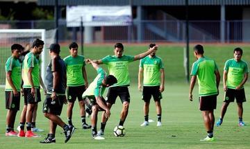 México busca su pase a la final de la Copa Oro a costa de Jamaica