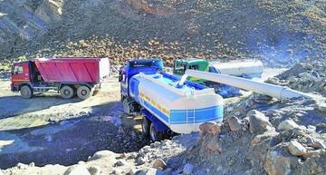 Denuncian que existe mercado negro de venta de agua a ingenios mineros