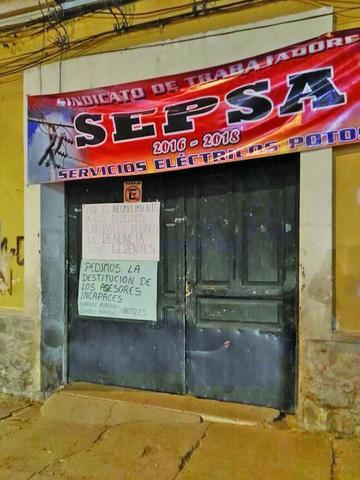 Los trabajadores de Sepsa mantienen huelga general