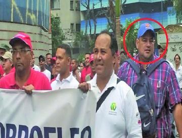 Un exasesor del MAS participó de movilizaciones en Venezuela