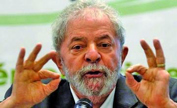 Lula justifica dinero bloqueado por orden judicial en Brasil