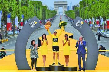 Froome logra el título del Tour de Francia