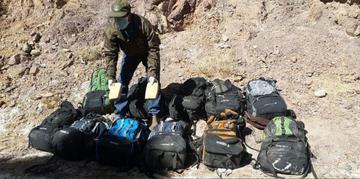 Caen 4 bolivianos con 200 kilogramos de droga en Chile