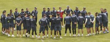 Beñat da prioridad al partido de la Copa Sudamericana
