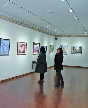 Acuarelistas bolivianos abren una exposición