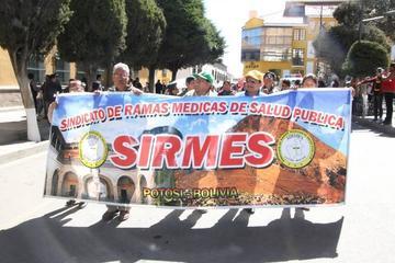 Sirmes continúa con paro de 48 horas en demanda de institucionalización