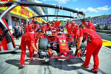 Vettel sale primero en el GP de Hungría