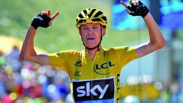 """Froome: """"ganar el Tour y la Vuelta sería increíble"""""""
