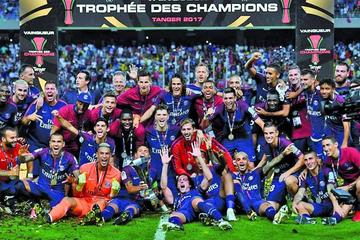 PSG se corona campeón de la Supercopa de Francia