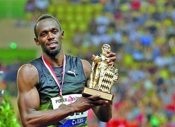 Jamaiquino Usain Bolt se despide del atletismo
