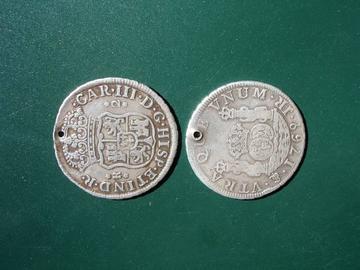 Primeras monedas acuñadas en la segunda Casa de Moneda