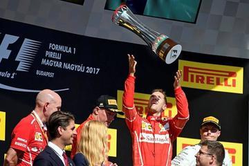 Sebastian Vettel gana el Gran Premio de Hungría