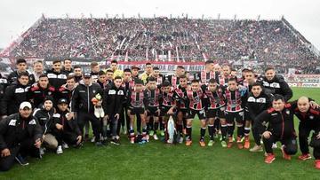 Chacarita asciende a la Primera División