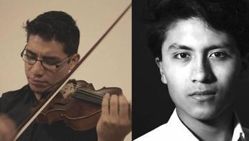 Jóvenes bolivianos van a la Real Academia de Londres