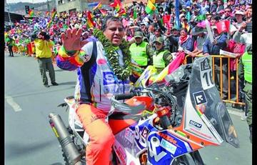Nogales desafiará otra vez el Dakar