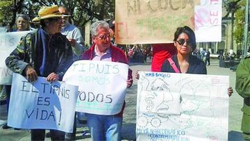 Indígenas apelarán ante la CIDH en una cruzada por el Tipnis