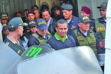Humala y Heredia continuarán en la prisión preventivamente