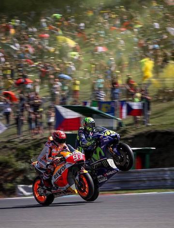 Márquez es el mejor en el GP de la República Checa