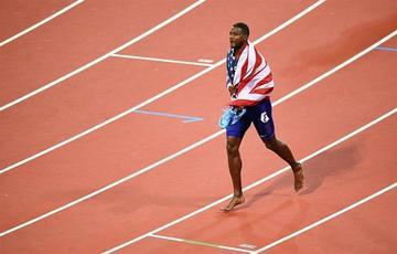 Gatlin estropea el adiós de Bolt en el Mundial de atletismo