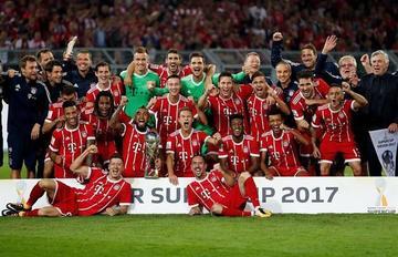Bayern Múnich gana la Supercopa de Alemania en los penales