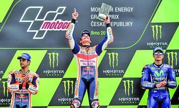Márquez gana el Gran Premio de la República Checa de MotoGP