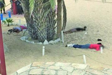 Balacera en playa de los Cabos del noroeste de México deja tres muertos
