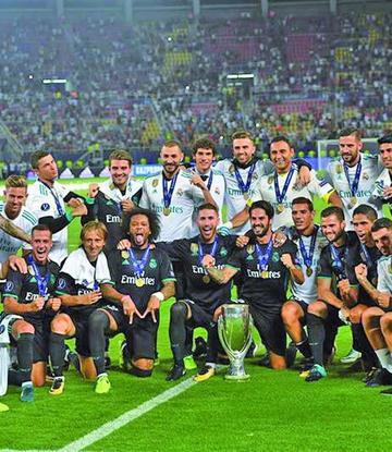 Real Madrid gana la Supercopa
