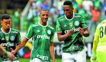 Palmeiras busca remontada frente al Barcelona