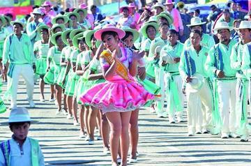 La entrada de Urkupiña ha registrado 73 fraternidades