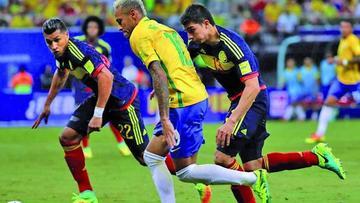 Se agotan entradas para Colombia-Brasil