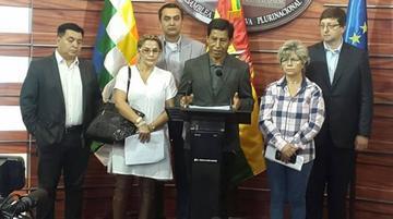 UD pide informe oral al ministro Claros por las obras en el Tipnis