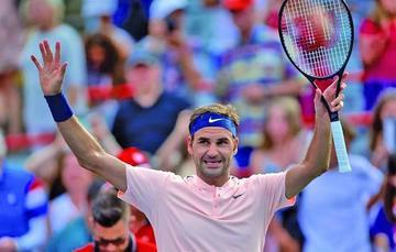 Federer se mete en cuartos en Montreal