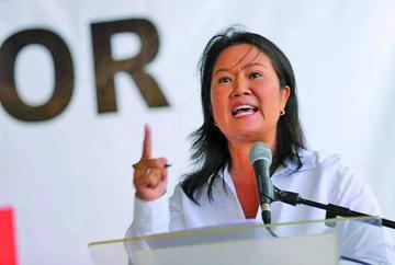 Sospechan implicación de Keiko Fujimori en el caso Odebrecht