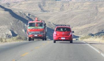 El martes 15 cerrarán la carretera San Antonio - La Puerta por limpieza